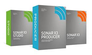 SONAR X3 シリーズ