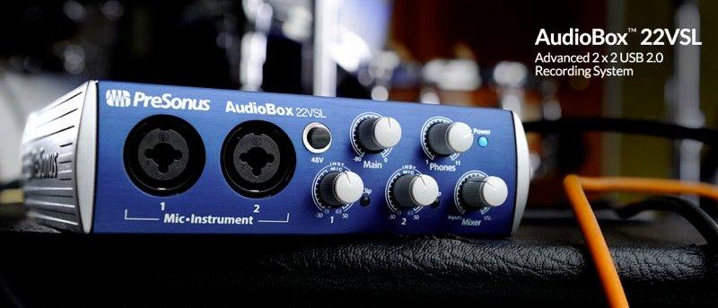 PreSonus AudioBox シリーズ