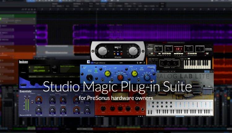 Studio Magic プラグイン・スイート