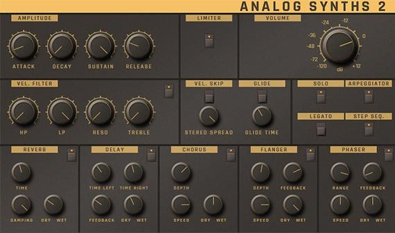 ACID Pro 9「Analog Synth 2」