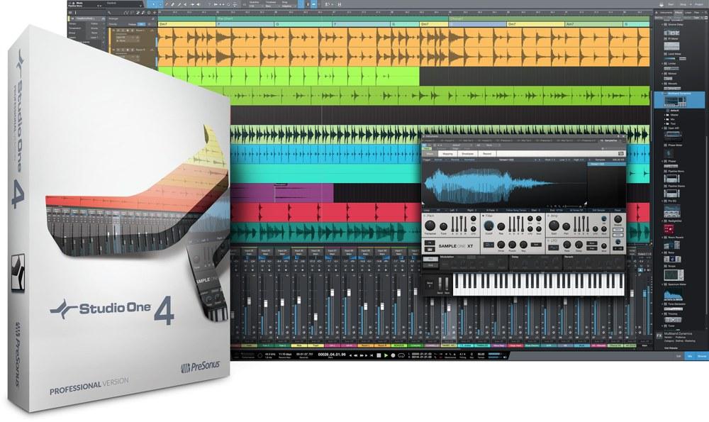 Studio One 4 画像